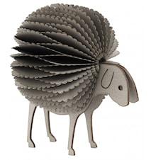 Fluffy sheep, grey, small