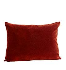Pudebetræk 70x50 cm - Rød