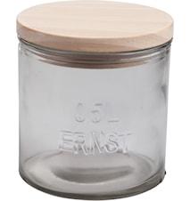 Trälock till glasburk d10 cm