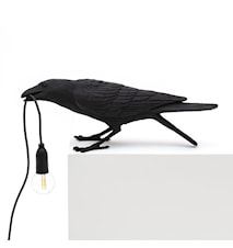 Bird Lamp Playing - Svart