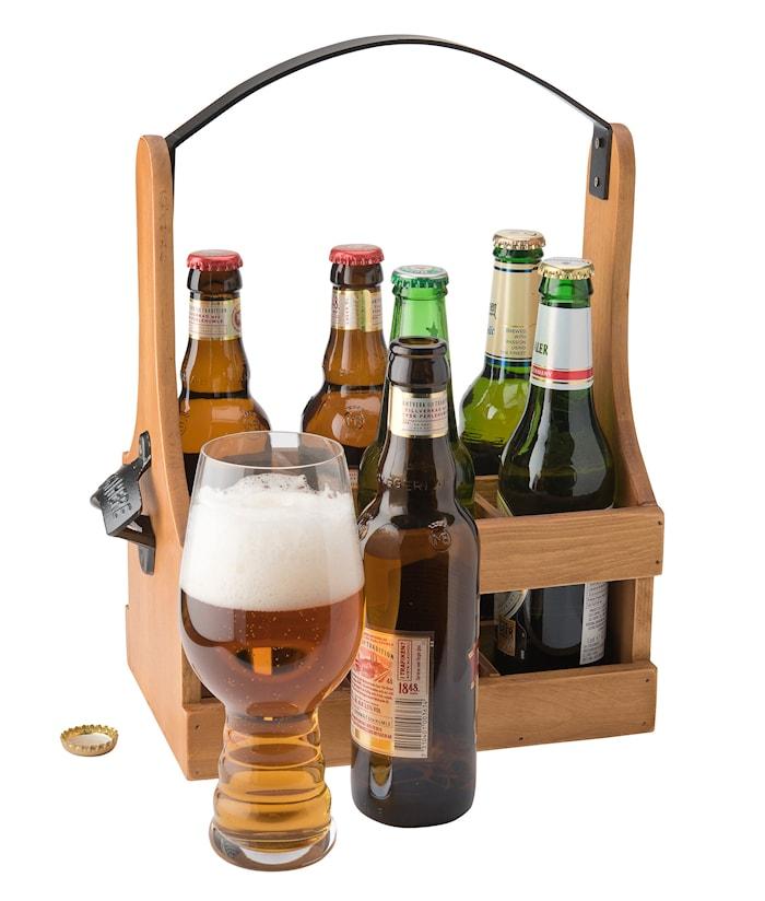 Bottleback 6 flasker håndtak og åpner