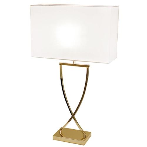 Omega Bordslampa 44 cm