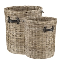 Round storage tvättkorg