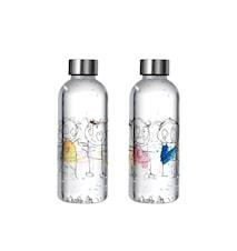 Poul pava original ICONS Vannflaske BPA-fri 0,65 L