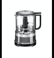 Mini Foodprocessor 0,95 liter Contour Silver