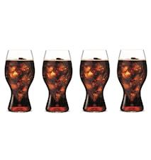 Coca Cola-Glas 4-pack