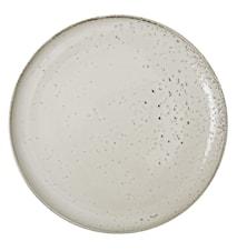 Rustic Plate 26,5cm Beige
