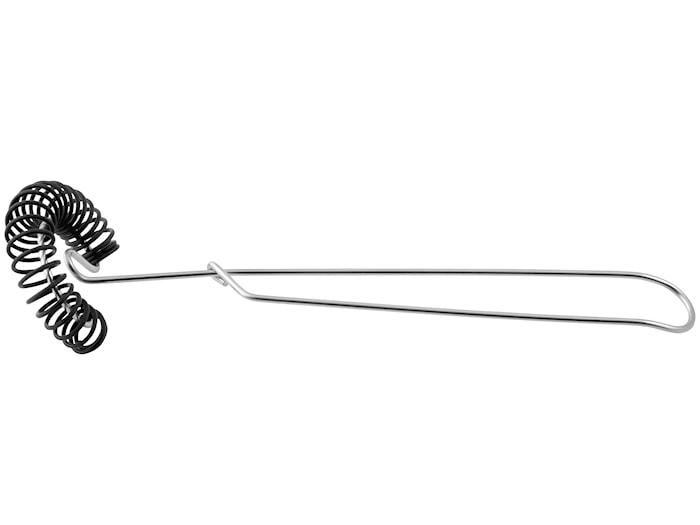 Spiralpisker 27cm stål/silikone