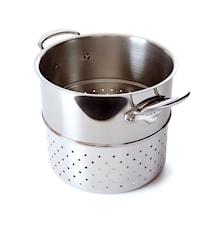 Cook Style Pastaosa kiillotettua terästä Ø 24 cm