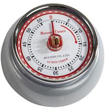 Dulton Timer Mat Sølv 7,5cm