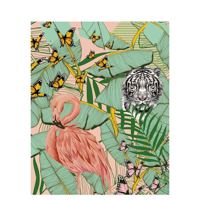 Barn Poster, Jungle