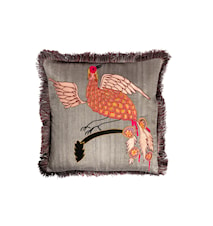 Day Bird of Paradise Cushion Cover Tumberic