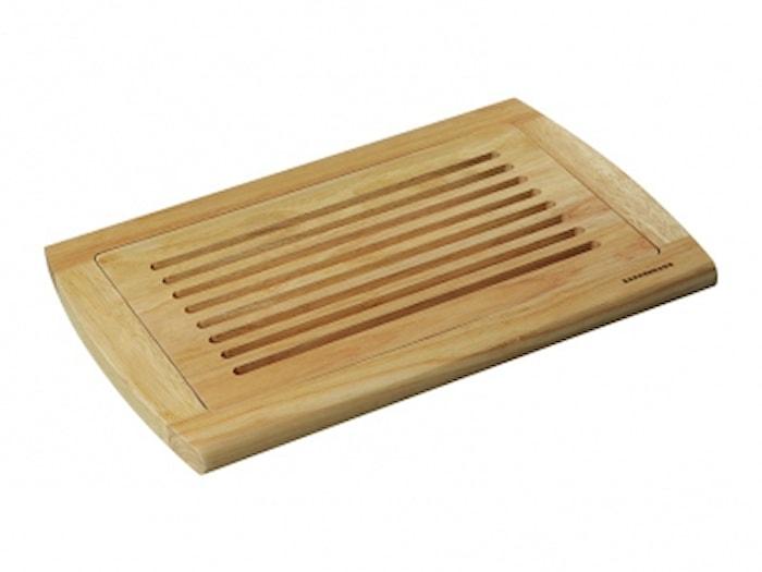 Skjærebrett brød 42x28 cm Rubberwood