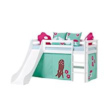 Basic slide loftsäng – Forest sängpaket