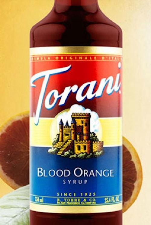 Blood Orange Syrup 750 ml -