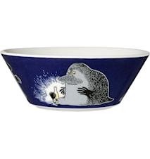 Mumin skål 15 cm Mårran blå