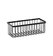Basket, Bath, Black ,l: 28 cm, w: 11 cm, h: 9.5 cm