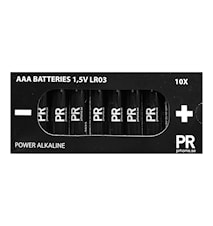 Batteri 10pack Power Alkaline AAA