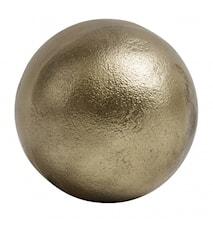 Deco ball, golden, smooth