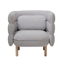 Stol Ellen 84x75 cm - Grå