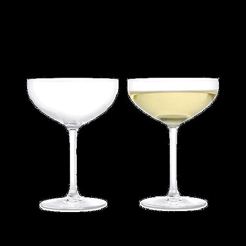 Premium Champagneglass, 2 stk., 39 cl