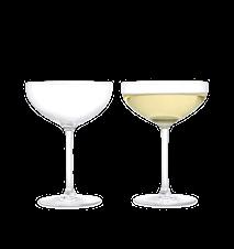 Premium Champagneskål 39 cl klar 2 st