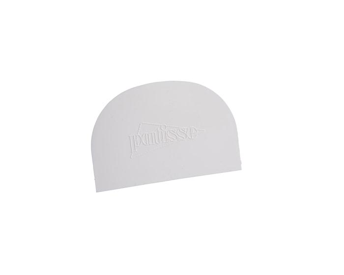 Taikinakaavin valkoista muovia 12 cm