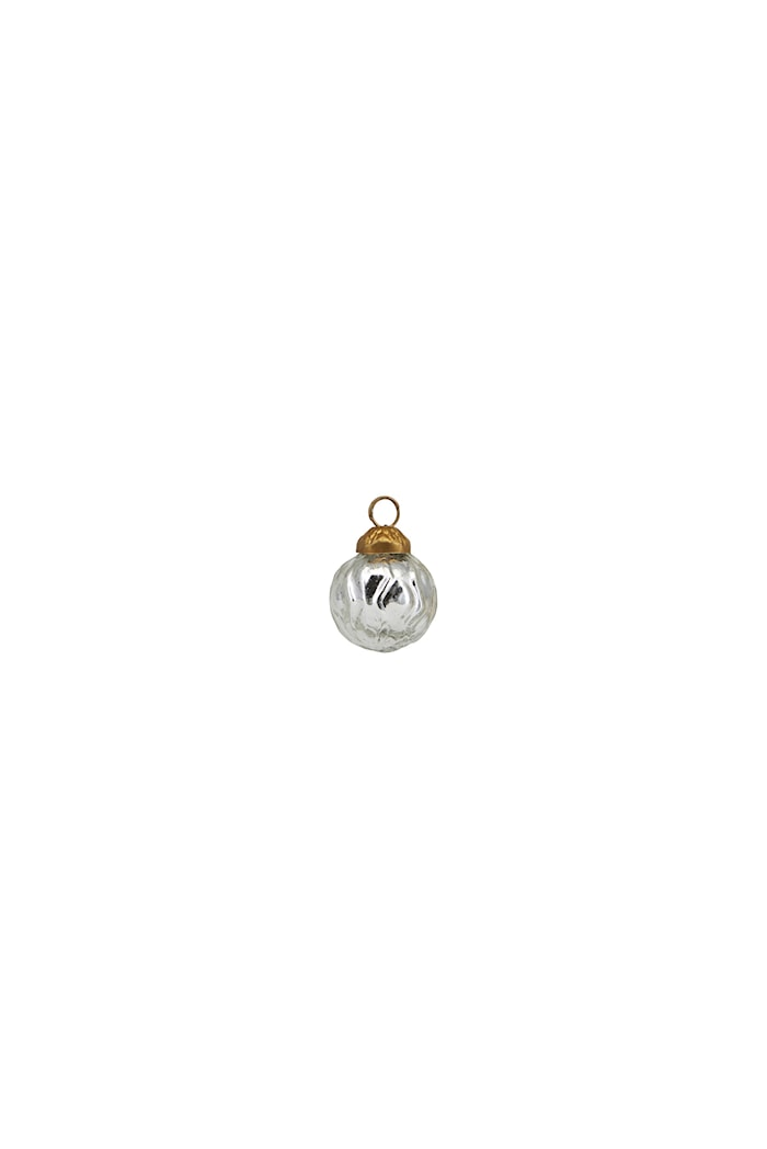 Ornament Thiny Ø 2,5 cm Silver