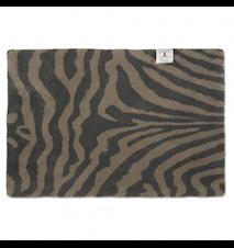 Dörrmatta Zebra Grå 60x90 cm