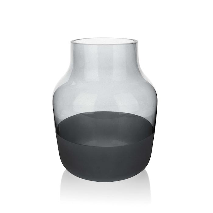 Medium Vase 19 cm Grå