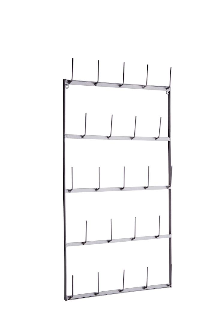 Koppholder til veggen 76 cm - Jern