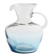 MEXICAN BUBBLE jug, round, turquoise