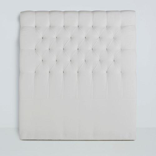 Paula sänggavel Canvas Offwhite - 90x135