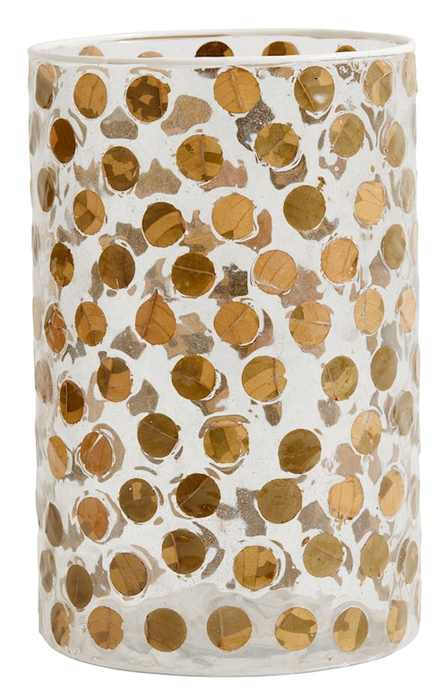 Vas Dotted glass Large