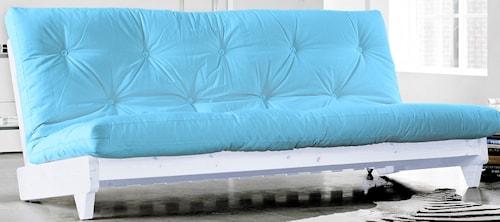 Fresh soffa - vit/ljusblå