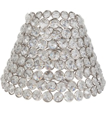 Classic Metallskjerm Diamant 18 cm