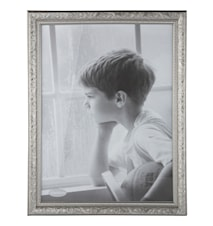 Tavelram Silver/Glas 30x40 cm