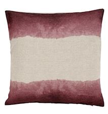Putetrekk tie-dye 45x45 cm - Rosa