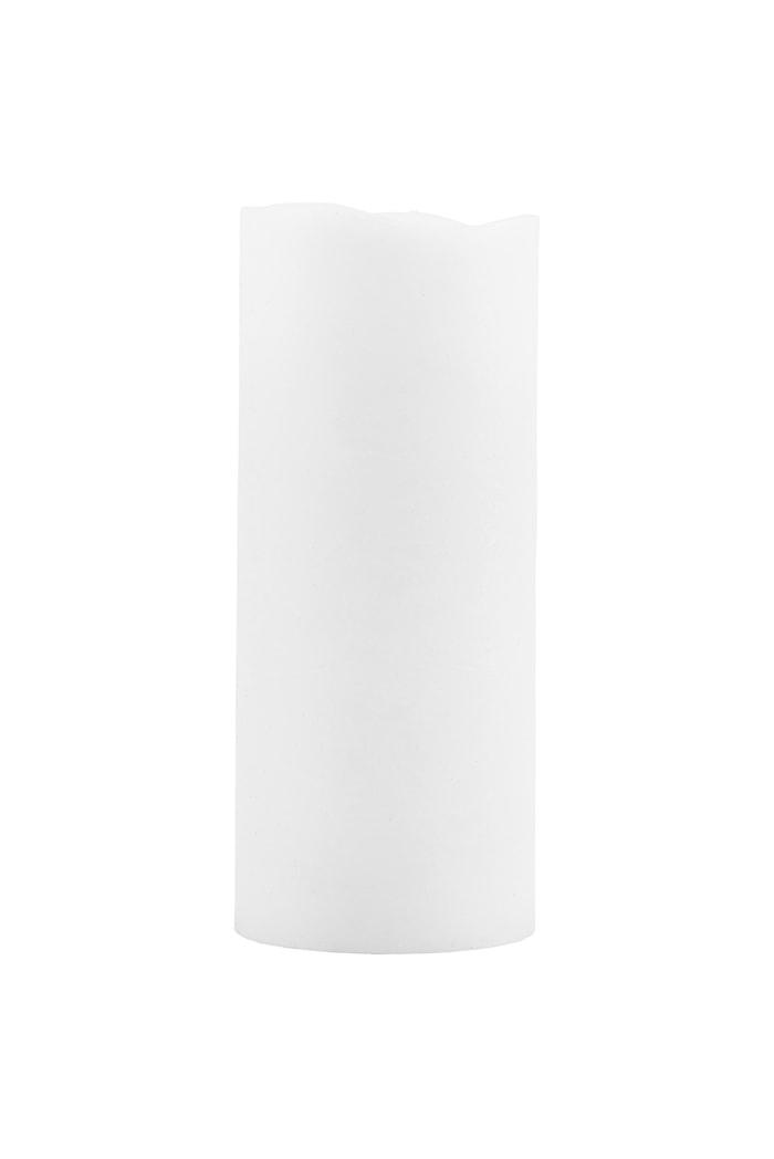 Ljus LED Ø 7,5x18cm Vit