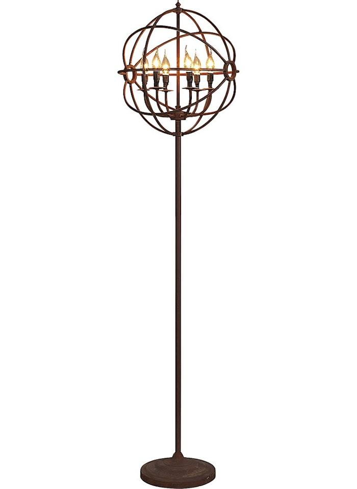 Gyro golvlampa - Antique rust