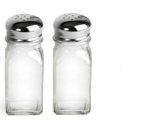 Salt&pepparströare Square 2 st