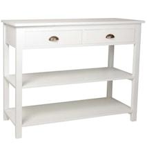 Ib Laursen Shiny console 2 drawers kommode