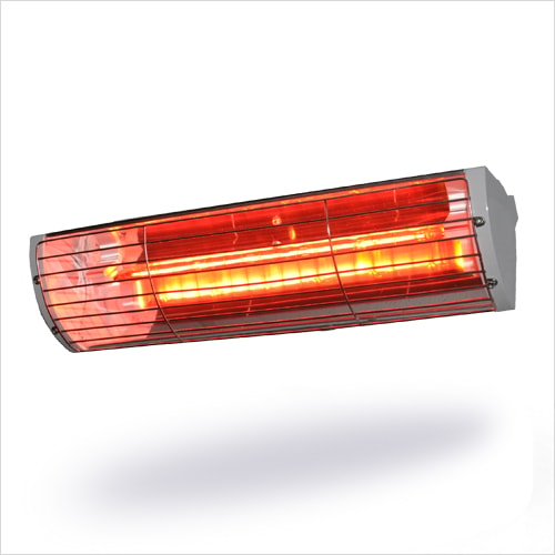 Heatlight Quartzvarmer VLRW15 aluminium