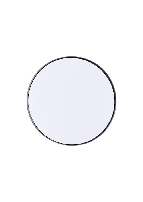 Spegel Reflection Ø 40 cm - Järn/svart