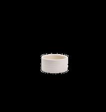 Varmelysholder I det enkle, hvid