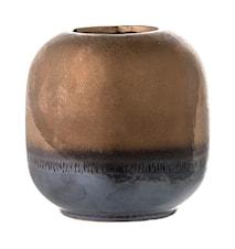 Vase Bronze Steintøy10,5x10,5 cm