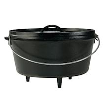Nederlandsk ovn Støpejern 30,4cm 7,5 L