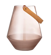 Lanterne, Brown, Glass