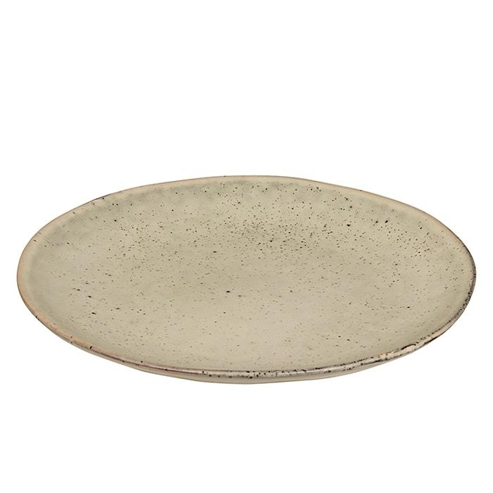 Jälkiruokalautanen Keraaminen Nordic Sand Ø 20 cm