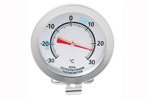 Analog frys-/kylskåpstermometer med clips